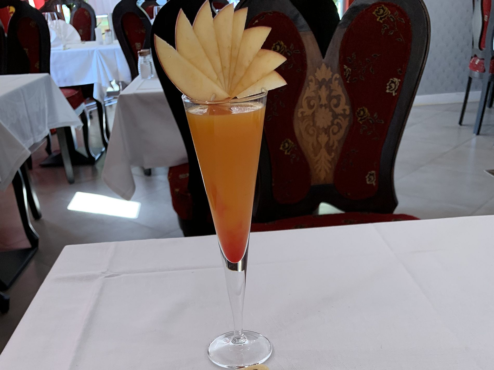 Cocktail jus de fruit Jardin de Punjab
