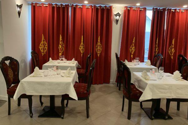 Salle de restauration indienne Jardin de Punjab Annecy