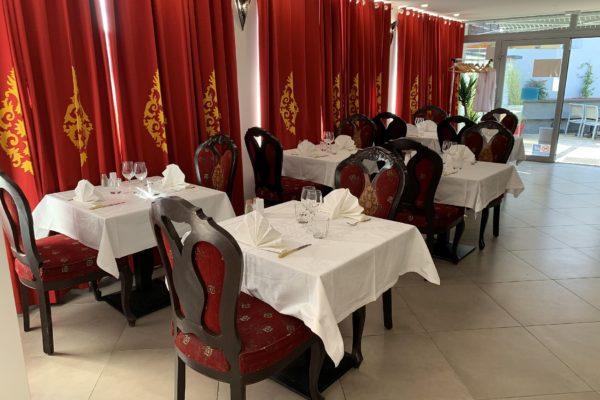 Salle Restaurant Jardin de Punjab Annecy