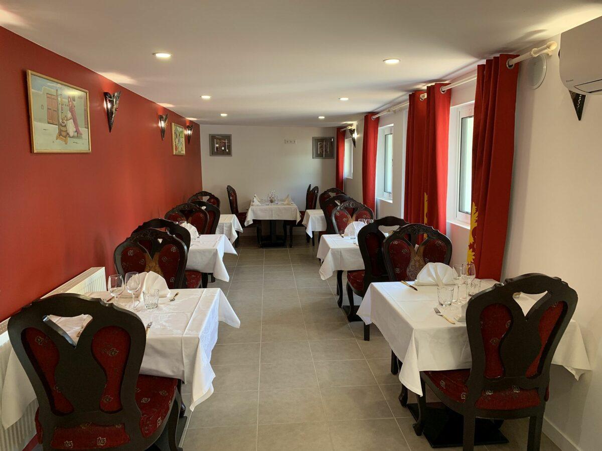 Salle du Restaurant indien Annecy Jardin de Punjab