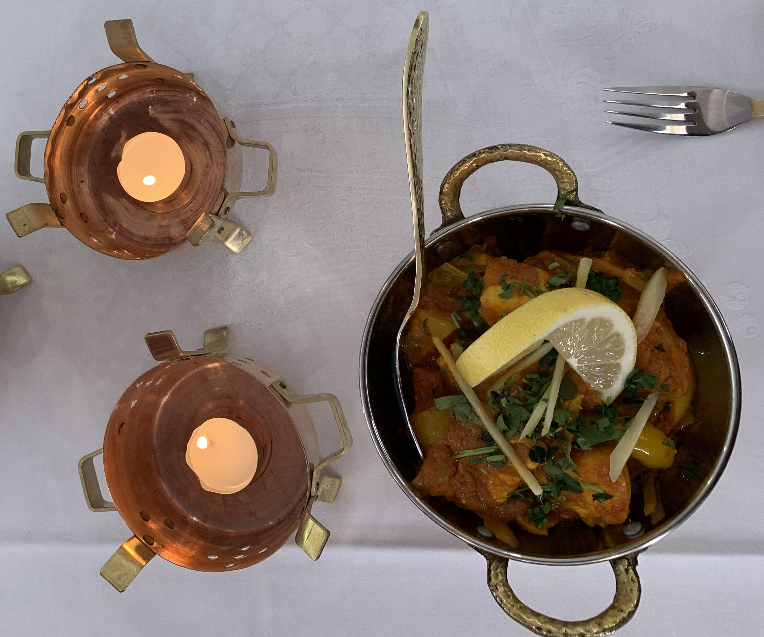 Curry du restaurant le Jardin de Punjab